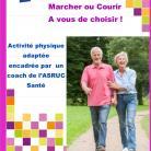 Seniors, Marcher ou Courir  A vous de choisir ! 2 vendredis par mois